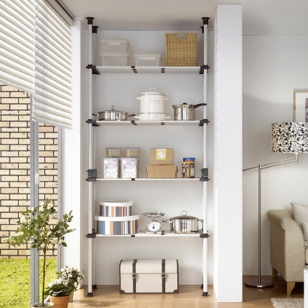 4 shelf, adjustable