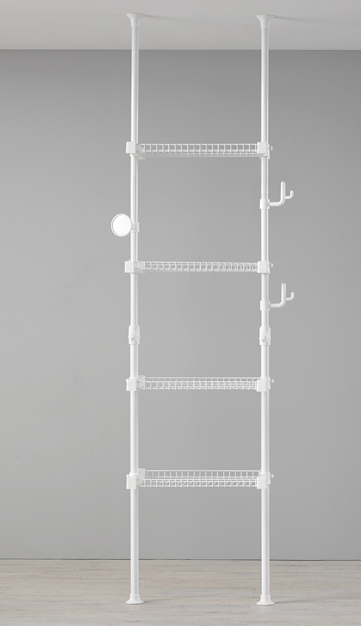 2 pole, 4 wire shelf, f2c